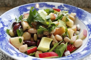 Beans make salad much more hearty!!!