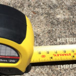 Metric & Imperial on one tape measure